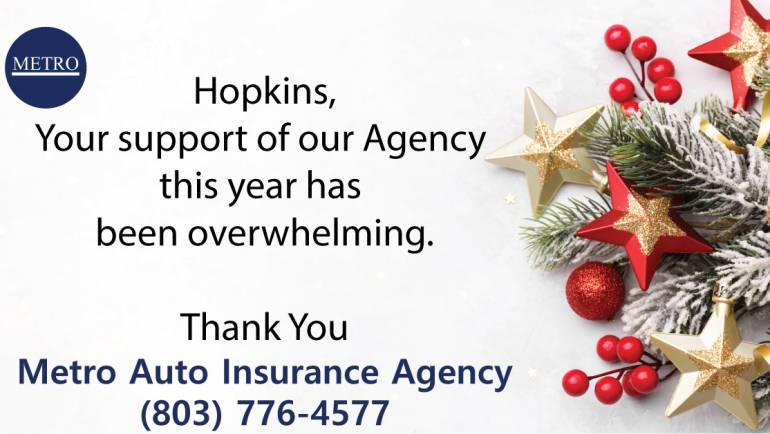 Thank You Hopkins